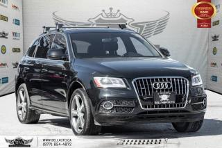 Used 2016 Audi Q5 3.0T Technik, S-LINE, AWD, NO ACCIDENT, NAVI, REAR CAM for sale in Toronto, ON