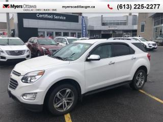 Used 2016 Chevrolet Equinox LTZ  PREMIER, AWD, LEATHER, 3.6 V6, CLEAN CARFAX for sale in Ottawa, ON