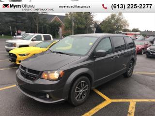 Used 2018 Dodge Grand Caravan GT  GT, LEATHER, STOW AND GO, POWER SLIDE DOORS AND TRUNK for sale in Ottawa, ON