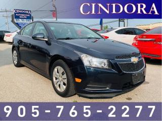Used 2014 Chevrolet Cruze LT, Auto, Bluetooth, A/C for sale in Caledonia, ON