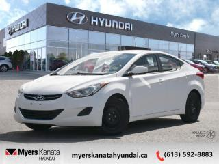 Used 2013 Hyundai Elantra GL  - $77 B/W for sale in Kanata, ON
