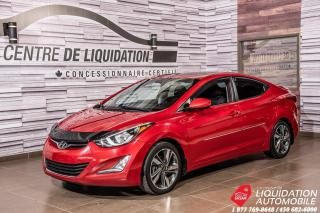 Used 2016 Hyundai Elantra GLS+TOIT+MAGS+CAMERA DE RECUL for sale in Laval, QC