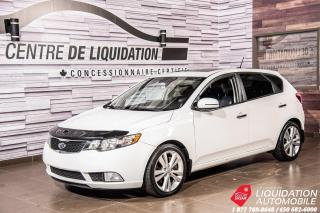 Used 2013 Kia Forte5 Sx+CUIR+TOIT+SIEGE/CHAUFF+BLUETOOTH for sale in Laval, QC