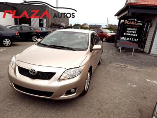 Used 2010 Toyota Corolla 4DR SDN AUTO LE for sale in Beauport, QC