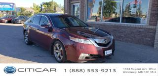 Used 2009 Acura TL 2009 ACURA TL TECH PKG*LEATHER*NAV*AWD*CAM*HTD SEA for sale in Winnipeg, MB