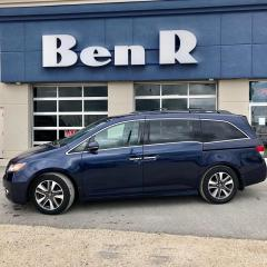 Used 2015 Honda Odyssey Touring for sale in Steinbach, MB