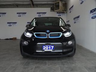 Used 2017 BMW i3 W/ RANGE EXTENDER | ELECTRIC | LEATHER | NAV | 46K for sale in Brantford, ON