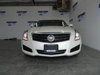Used 2014 Cadillac ATS LUXURY | ROOF | LEATHER | TOUCHSCREEN | ONLY 35 KM for sale in Brantford, ON