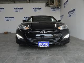 Used 2016 Hyundai Genesis Coupe 3.8 V6 | LEATHER | SUNROOF | NAV | RARE for sale in Brantford, ON