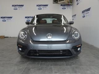 Used 2017 Volkswagen Beetle Coupe CLASSIC | LEATHER | SUNROOF | TOUCHSCREEN for sale in Brantford, ON