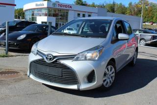 Used 2015 Toyota Yaris Hayon 5 portes, boîte manuelle, LE for sale in Shawinigan, QC