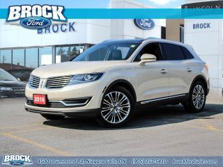 Used 2016 Lincoln MKX Reserve for sale in Niagara Falls, ON