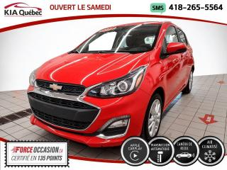 Used 2019 Chevrolet Spark LT* AT* CAMERA* CARPLAY* ON STAR* for sale in Québec, QC