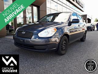 Used 2010 Hyundai Accent GL AUTOMAQUE- A/C ** BAS PRIX ** Idéal pour un étudiant! for sale in Shawinigan, QC