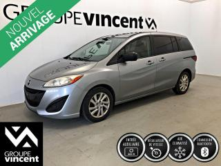 Used 2012 Mazda MAZDA5 GS CLIMATISEUR 6 PASSAGERS ** GARANTIE 10 ANS ** Véhicule familiale pour petit budget! for sale in Shawinigan, QC
