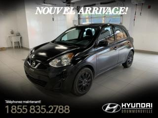 Used 2016 Nissan Micra SV +GARANTIE + CRUISE  + MIRROIR ELEC + for sale in Drummondville, QC