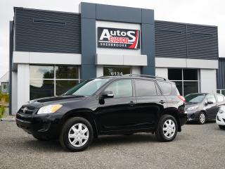 Used 2011 Toyota RAV4 4WD + INSEPCTÉ + FREINS AVANT NEUFS for sale in Sherbrooke, QC