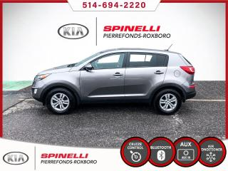 Used 2013 Kia Sportage LX MANUEL / BAS MILEAGE for sale in Montréal, QC