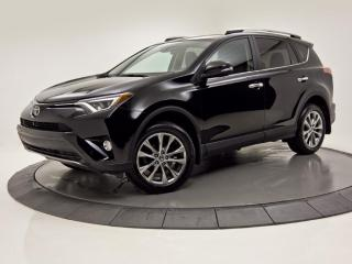 Used 2017 Toyota RAV4 AWD Limited CUIR TOIT OUVRANT GPS for sale in Brossard, QC
