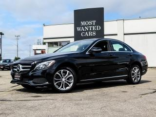Used 2016 Mercedes-Benz C 300 4MATIC|NAV|BLIND SPOT|DUAL ROOF for sale in Kitchener, ON