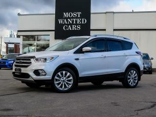 Used 2017 Ford Escape TITANIUM 4WD|NAV|BLINDSPOT|NAV|PANO|LEATHER for sale in Kitchener, ON