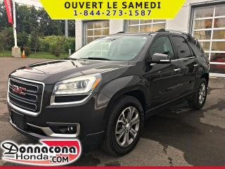 Used 2016 GMC Acadia SLT-1 * 7 PASSAGERS * for sale in Donnacona, QC