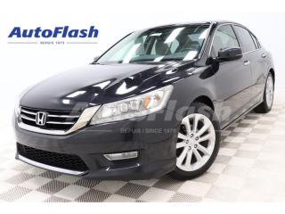 Used 2013 Honda Accord TOURING *V6 *3.5L *CUIR/LEATHER *CAMERA *GPS *TOIT for sale in St-Hubert, QC