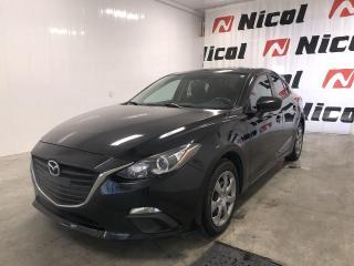 Used 2015 Mazda MAZDA3 UNKNOWN Nicol Occasion, le leader régional for sale in La Sarre, QC