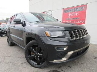 Used 2015 Jeep Grand Cherokee 4X4 OVERLAND 5.7 HEMI NAV CUIR TOIT PANO MAGS 20'' for sale in St-Jérôme, QC