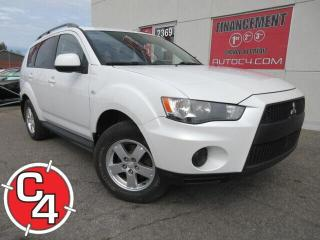 Used 2010 Mitsubishi Outlander AWD ES AUTO BLUETOOTH MAGS AWD for sale in St-Jérôme, QC