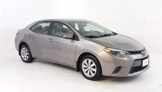 Used 2015 Toyota Corolla LE 4Dr., 4Cyl., Auto. Trans., Heated Seats, Rear C for sale in Winnipeg, MB
