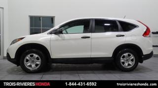 Used 2014 Honda CR-V LX + 2WD + CAMERA RECUL + BLUETOOTH! for sale in Trois-Rivières, QC