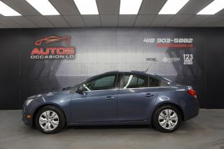 Used 2014 Chevrolet Cruze 1LT TURBO AUTOMATIQUE CAMERA BLUETOOTH 87 240 KM for sale in Lévis, QC