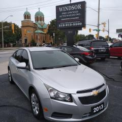 Used 2013 Chevrolet Cruze LT Turbo for sale in Windsor, ON