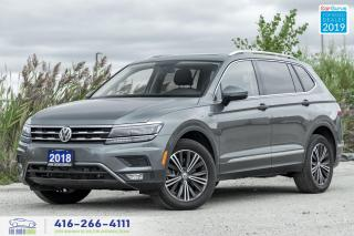 Used 2018 Volkswagen Tiguan SEL Premium|Pano roof|Navigation|No Accidents for sale in Bolton, ON