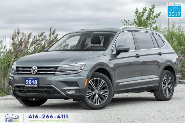 2018 Volkswagen Tiguan SEL Premium|Pano roof|Navigation|No Accidents