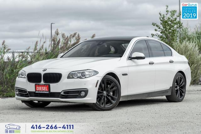 2016 BMW 5 Series 535d xDrive|No Accidents|Low kms|Navi|