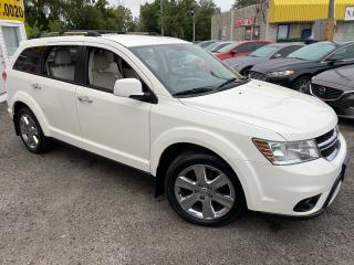 Used 2012 Dodge Journey R/T/ AWD/ LEATHER/ SUNROOF/ ALLOYS/ TINTED ++ for sale in Scarborough, ON