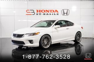 Used 2013 Honda Accord EX-L + COUPE + MANUEL + CUIR + WOW! for sale in St-Basile-le-Grand, QC