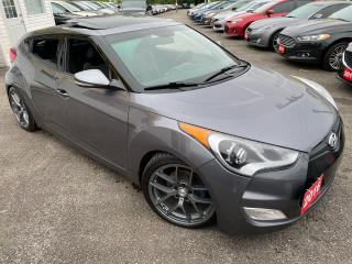 Used 2016 Hyundai Veloster TECH/ NAVI/ CAM/ LEATHER/ ROOF/ NEW RIMS ++ for sale in Scarborough, ON
