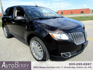 Used 2013 Lincoln MKX AWD - 3.5L - Pano - B/Up Cam for sale in Woodbridge, ON