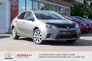 Used 2016 Toyota Corolla LE MAGS, CAMÉRA DE RECUL, SIÈGES CHAUFFANT for sale in Pointe-Claire, QC
