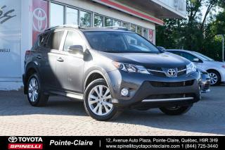 Used 2015 Toyota RAV4 ***RÉSERVÉ***LIMITED TECH for sale in Pointe-Claire, QC