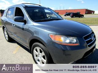 Used 2008 Hyundai Santa Fe Limited - AWD - 7 Passenger for sale in Woodbridge, ON