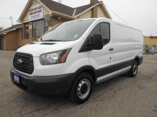 Used 2016 Ford Transit CARGO T150 3.7L Loaded Divider ONLY 74,000Km for sale in Etobicoke, ON