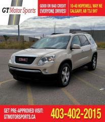Used 2011 GMC Acadia SLT1 | $0 DOWN - EVERYONE APPROVED! for sale in Calgary, AB