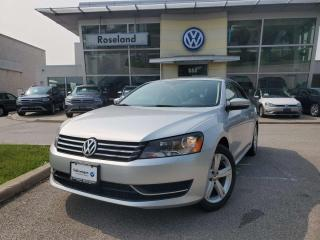 Used 2015 Volkswagen Passat Comfortline 1.8 TSI for sale in Burlington, ON