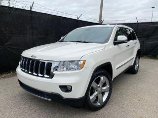 Used 2011 Jeep Grand Cherokee LIMITED-4X4-NAVI-CAMERA-PANO ROOF-LOADED for sale in Toronto, ON
