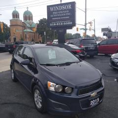 Used 2015 Chevrolet Sonic LT for sale in Windsor, ON