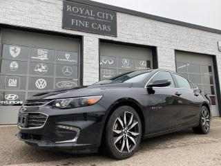 Used 2018 Chevrolet Malibu LT Nav Sunroof Leather Blind-Spot for sale in Guelph, ON